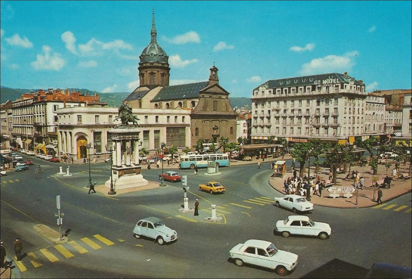 Clermont-Ferrand de 1842 à 1980 : qu'est-ce qui a changé ?