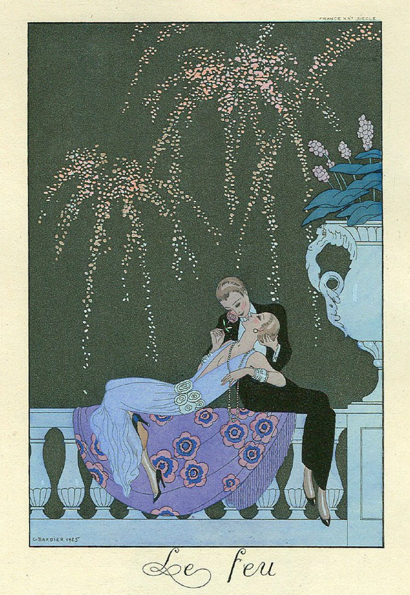 Les illustrations Art Déco de George Barbier