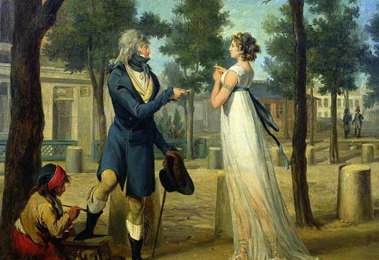 Incroyables et Merveilleuses : quand les «r» n'étaient plus à la mode et les robes étaient… légères !